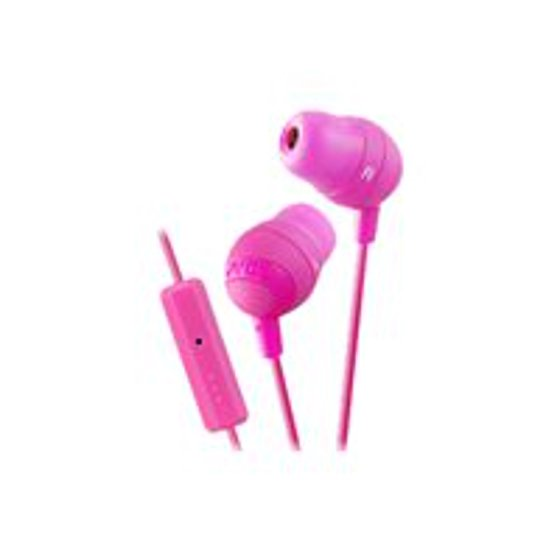 806e08a5a96 JVC HA-FR37-V Marshmallow - Earphones with mic - in-ear - 3.5 mm plug - noise  isolating - violet - Walmart.com