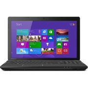 "Toshiba Black 15.6"" Satellite C55D-A5120 Laptop PC with AMD Quad-Core E2-3800 Processor, 4GB Memory, 500GB Hard Drive and Windows 8.1  (Free Windows 10 Upgrade before July 29, 2016)"