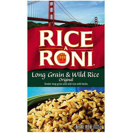 (12 Pack) Rice-A-Roni Long Grain & Wild Rice Mix, 4.3 oz Box