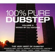100% Pure Dubstep (Mixed by DJ Hatcha) - 100% Pure Dubstep (Mixed by DJ Hatcha) [CD]