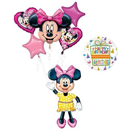 The Ultimate Minnie Mouse Airwalker Birthday Party Supplies (Minnie Mouse Birthday Party Ideas)