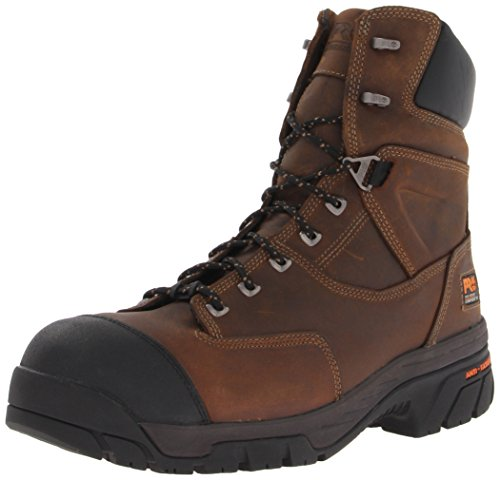 Timberland PRO Men's Helix 8 Inch Insulated Comp Toe Work Boot,Brown,8 M US by Timberland PRO