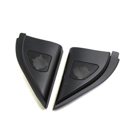 2 Pcs 6.5 x 5cm Mesh Black Car Tweeter Trumpet Dustproof Cover for Kia Forte - image 1 of 3