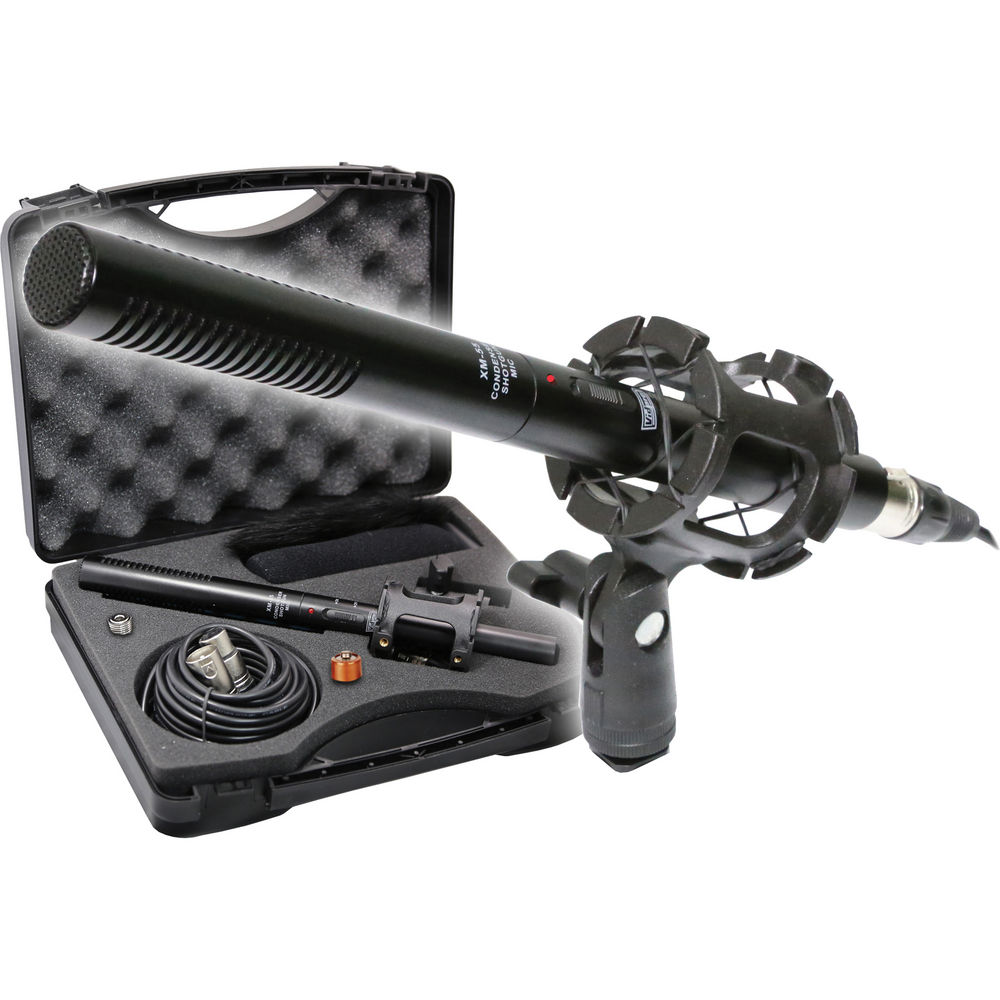 JVC GY-HM170UA Camcorder External Microphone Vidpro XM-55 13-Piece Professional Video &... by VidPro