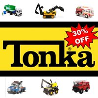 Save 30% off select Tonka's Steel Collection
