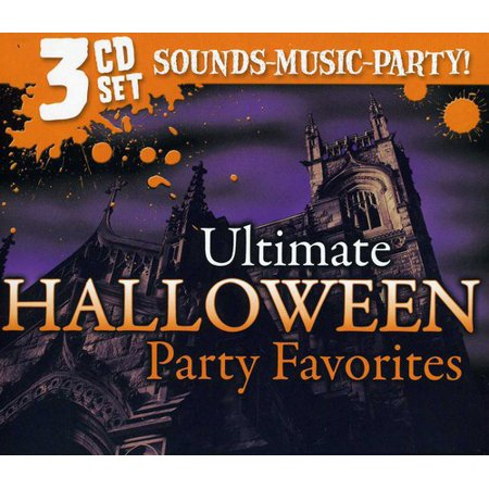 Ultimate Halloween Party Music (CD) (Kiss Halloween Music)