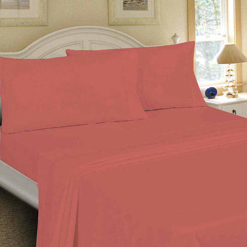 Mainstays 200 Thread Count Bed Sheet Set, 1 Each