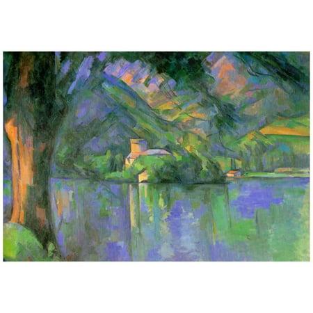 Paul Cezanne Le Lac d