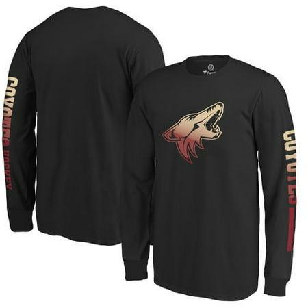 Arizona Coyotes Fanatics Branded Youth Gradient Logo Long Sleeve T-Shirt - Black - University Of Arizona Logo