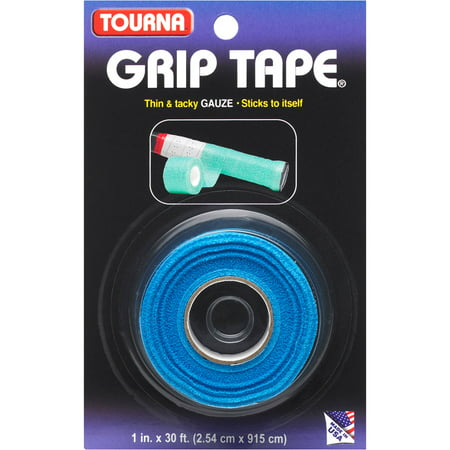 Tourna Gauze Grip Tape For Tennis, Racquetball, Squash, Baseball and - Green Clay Tennis