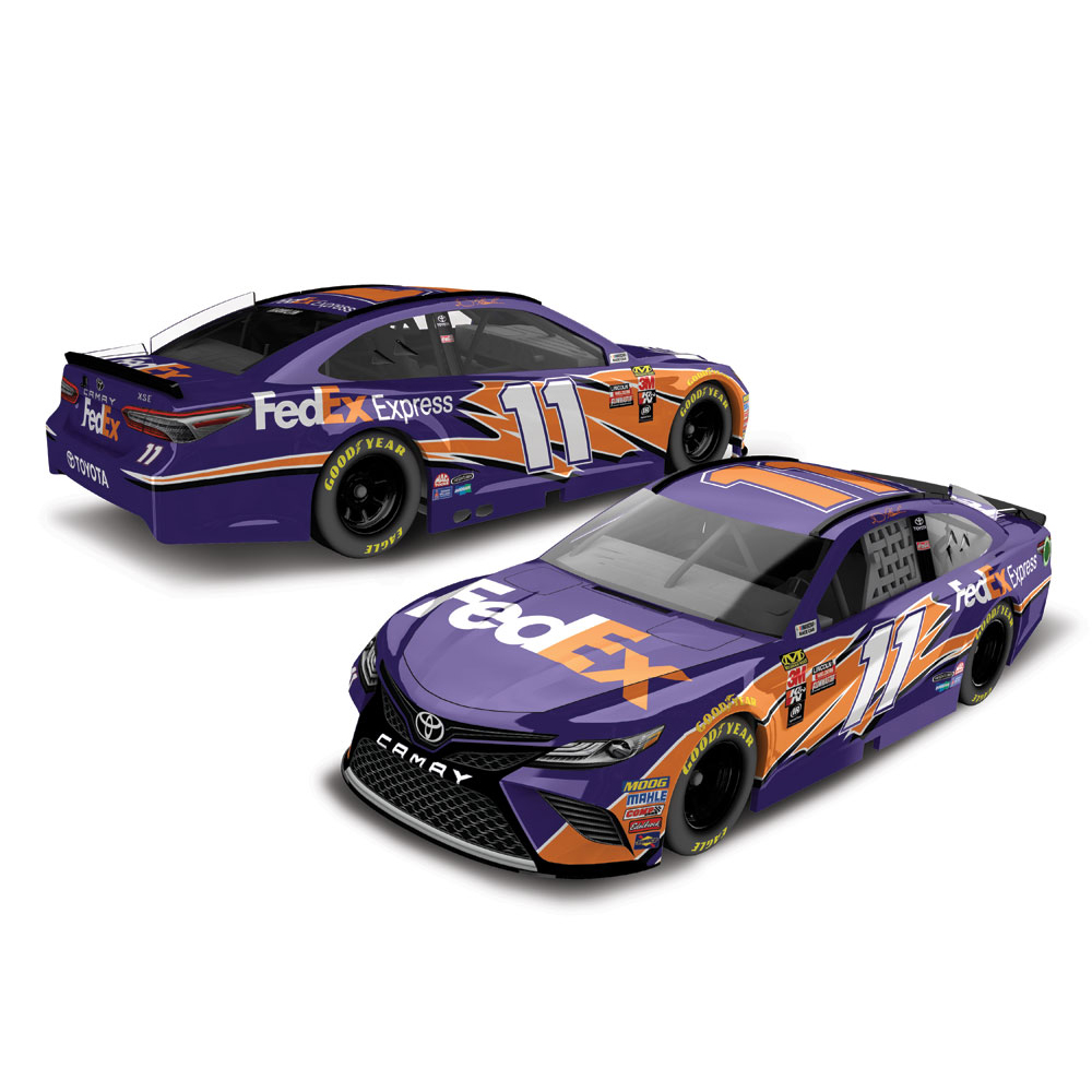 Denny Hamlin Action Racing 2018 #11 FedEx Express 1:64 Monster Energy Nascar Cup Series... by Lionel LLC