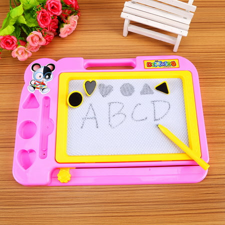 Erasable Drawing Board,Kids Drawing Board,Zerone Kids Children Magnetic Drawing Board with Painting Pen Writing Sketch Educational Preschool Toy