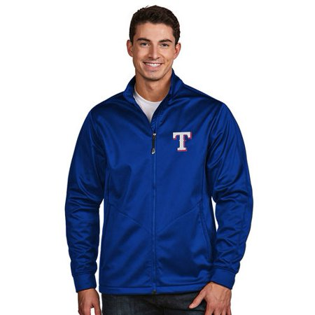 Texas Rangers Antigua Golf Full-Zip Jacket - Royal