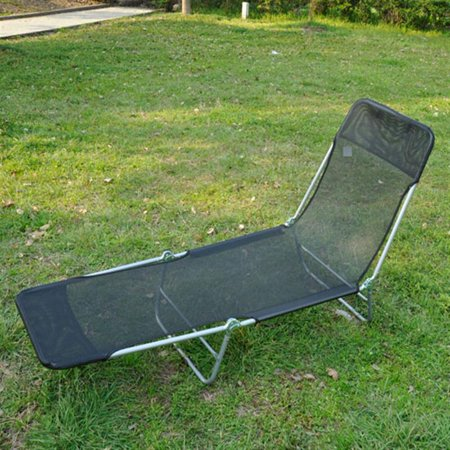 Outsunny adjustable reclining beach sun lounge chair for 3 in 1 beach chaise lounge