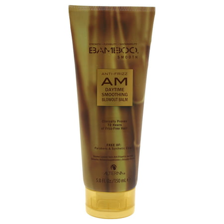 Alterna Bamboo Smooth AM Anti-Frizz Daytime Smoothing Blowout Balm - 5 oz Treatment
