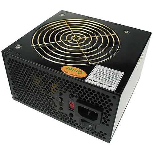 CoolMax CX-400B 400W 120mm Silent Fan Black ATX PSU