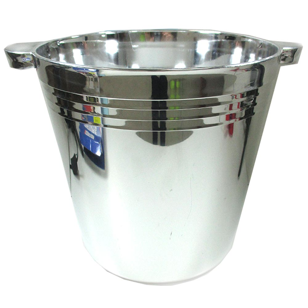 6 Elegant Ice Bucket Champagne Wine Drinks Beer Ice Cooler Bar Party Tub 6L Beer by Regent Products
