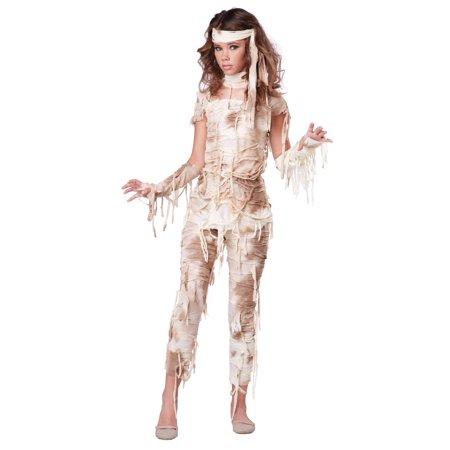 Teen Mysterious Mummy Costume - Homemade Mummy Costume Ideas