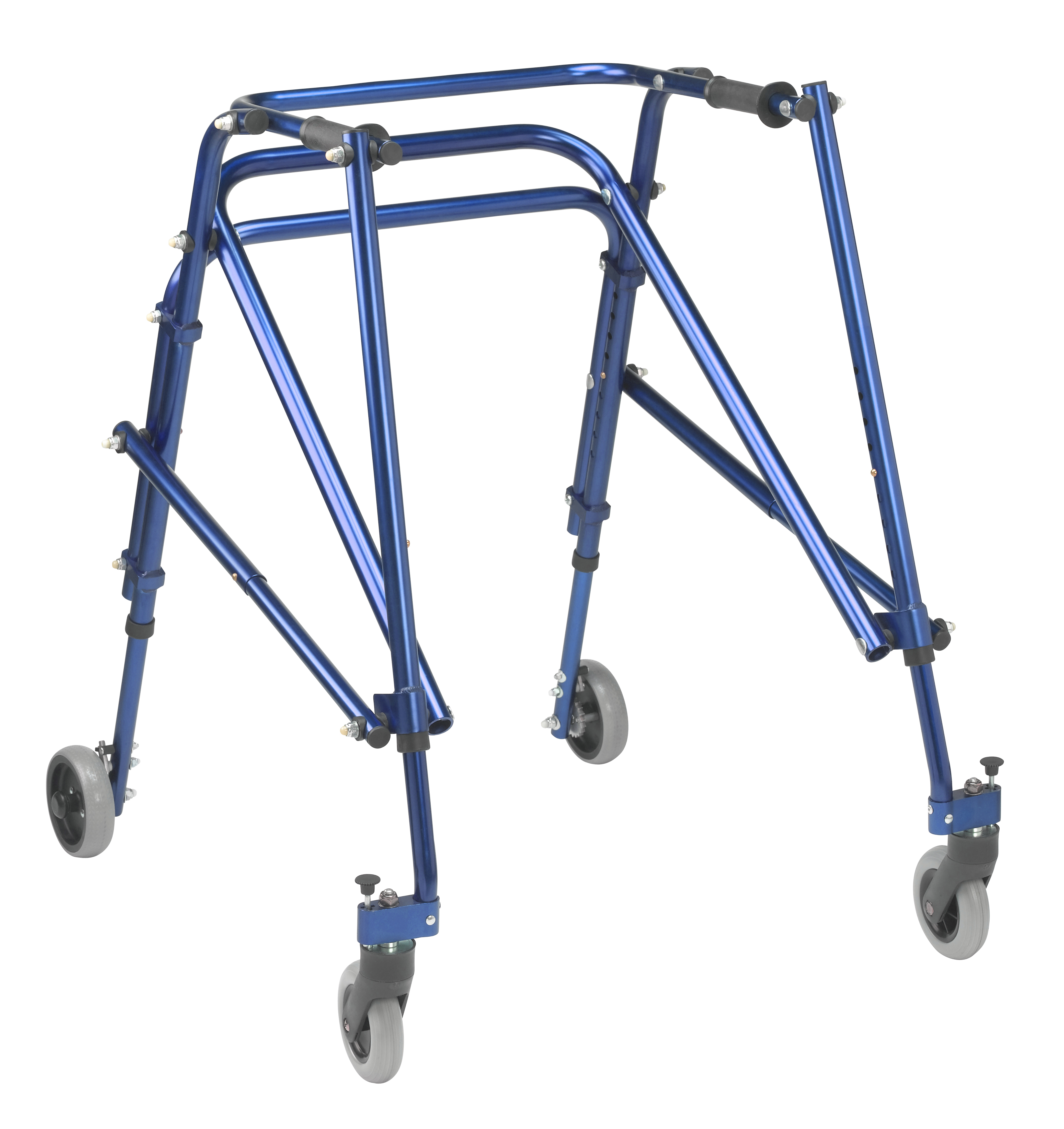 Inspired by Drive Nimbo 2G Lightweight Posterior Walker, Large, Knight Blue