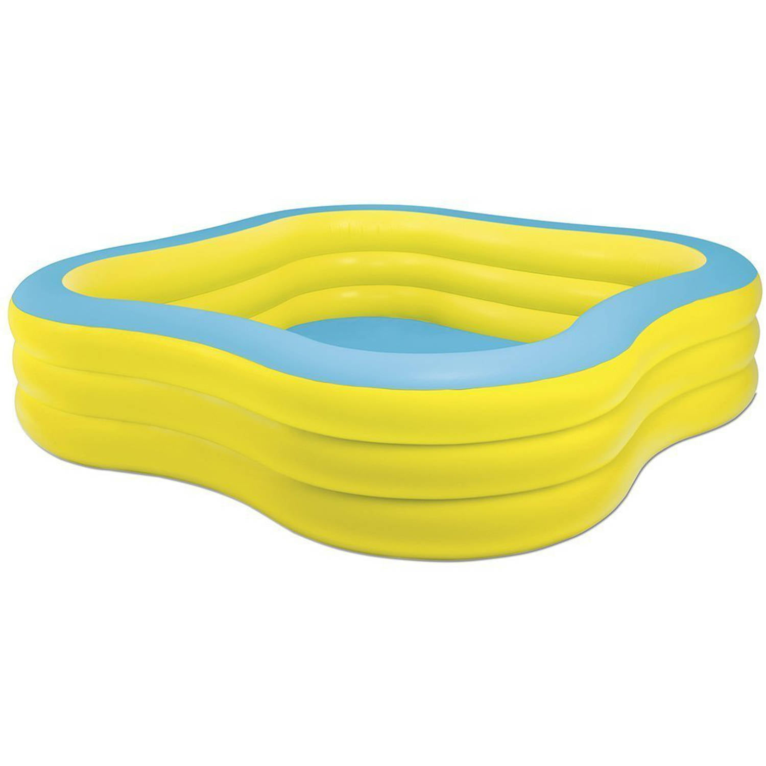 Intex Inflatable Beach Wave Swim Center Family Pool   Walmart.com