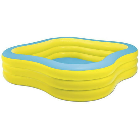 New Wave Swing (Intex Inflatable Beach Wave Swim Center Family Pool, 90