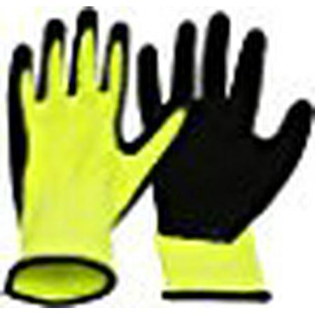 Extra Large Neon Work Gloves - Neon Gloves