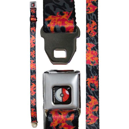- Pokemon Youth Seatbelt Belt 20 - 36 Inches - Charizard