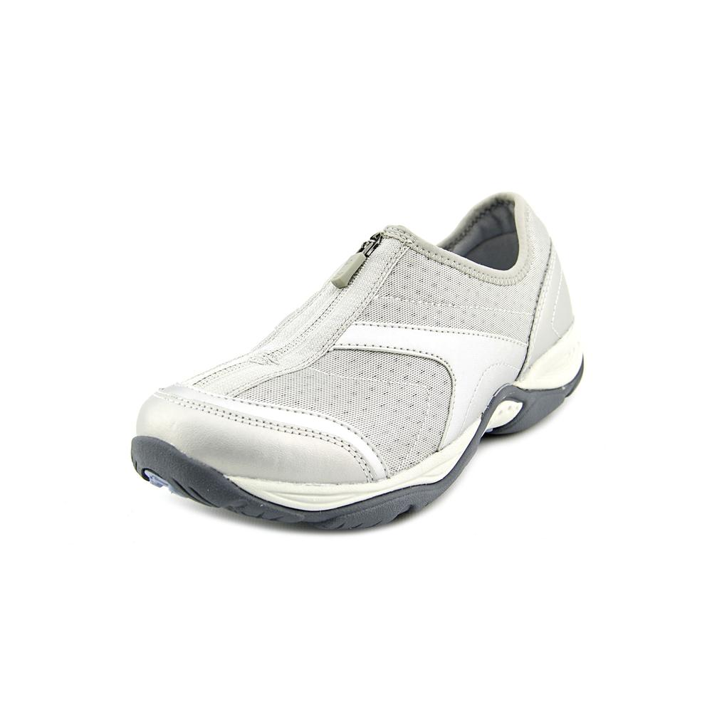 easy spirit ellicott n s toe canvas silver