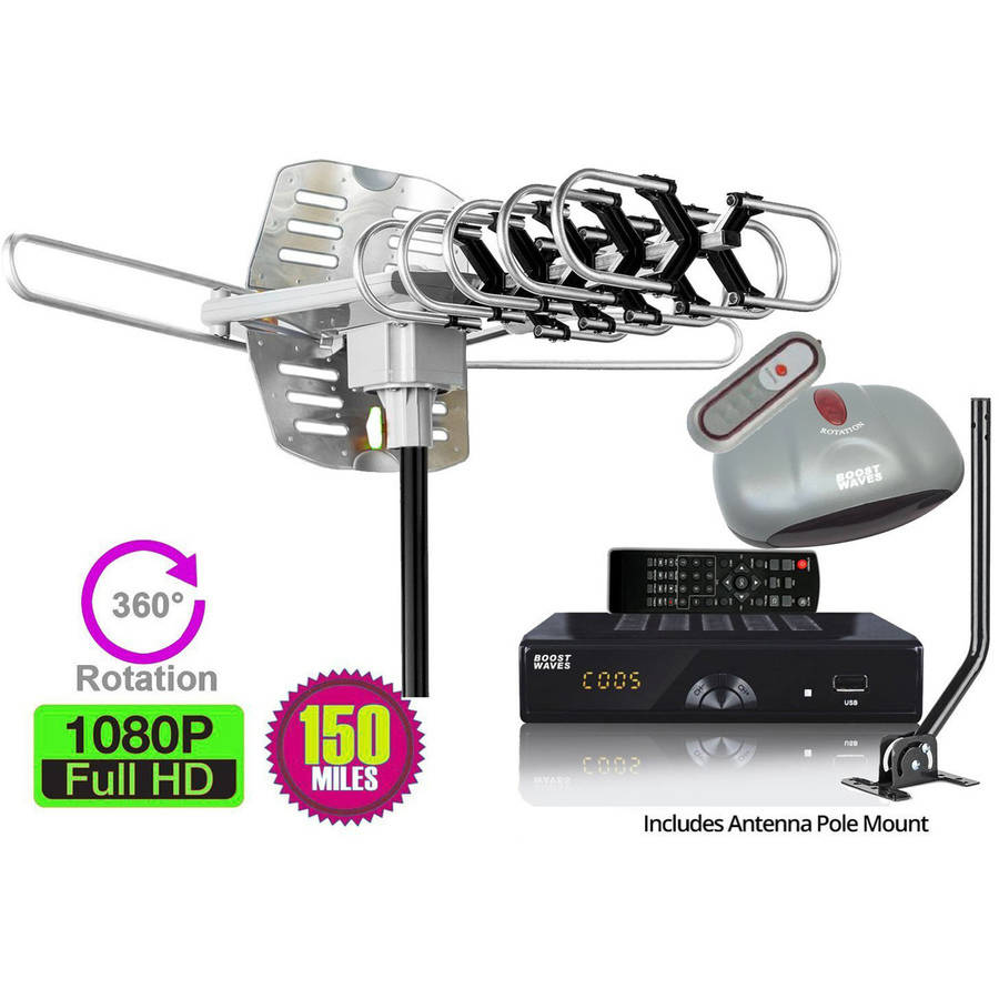 All in ONE Antenna Digital Converter Box DVR Combo, 1080p HDTV HDMI Output, Recording Playback