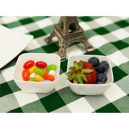 PARTY TOWN Mini Plastic Dessert Bowls - 18/pk