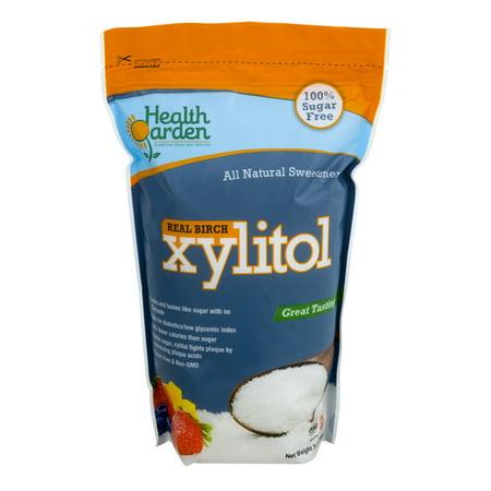 Xylitol Sweetener (Health Garden Real Birch Xylitol Sweetener, 3 Lb )