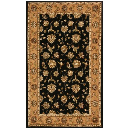Dynamic Rugs Jewel 70231 Herati Persian Rug - Black/Camel