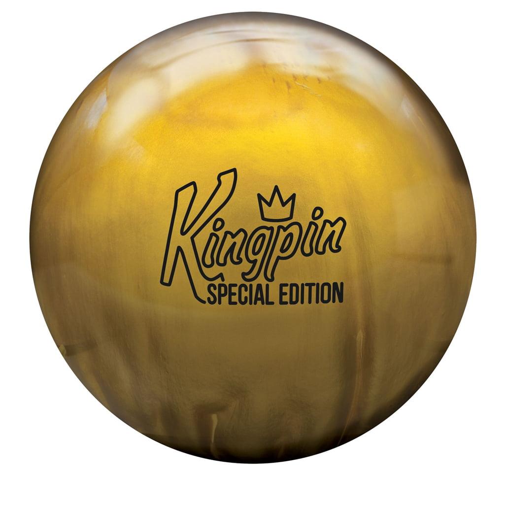 Brunswick KingPin Special Edition Bowling Ball- Gold Pearl (14lbs) by Brunswick Bowling Products