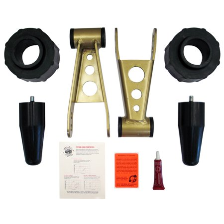 Daystar PAJL240PA Budget Lift Leveling Kit Fits 84-01 Cherokee (XJ)