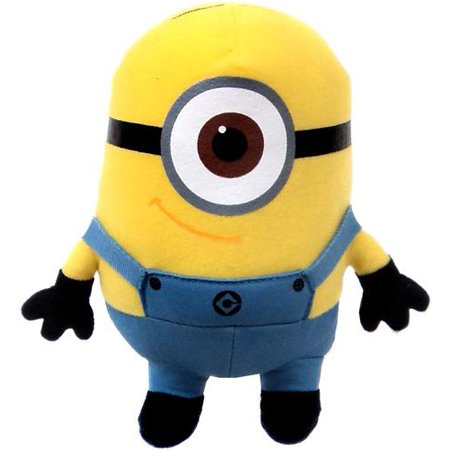 Despicable Me 2 Minion Stuart Plush Figure (Minion Plush Toy)