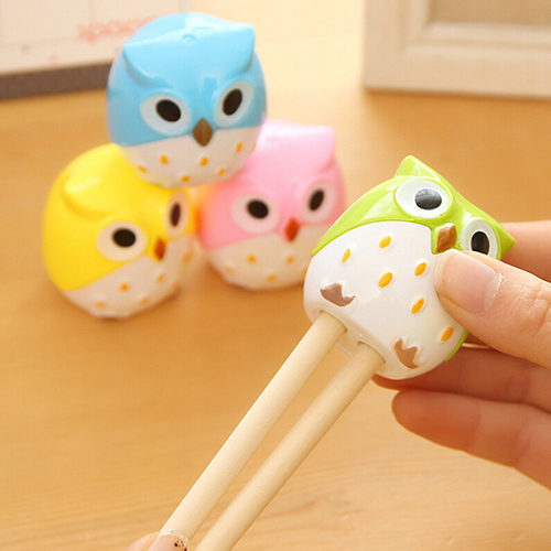 Girl12Queen Kawaii Cartoon Owl Pencil Sharpener Cutter Knife Students' Gift Stationery