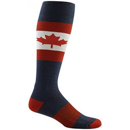Darn Tough Vermont Merino Wool Ski O Canada Over-the-Calf Cushion Sock - Men