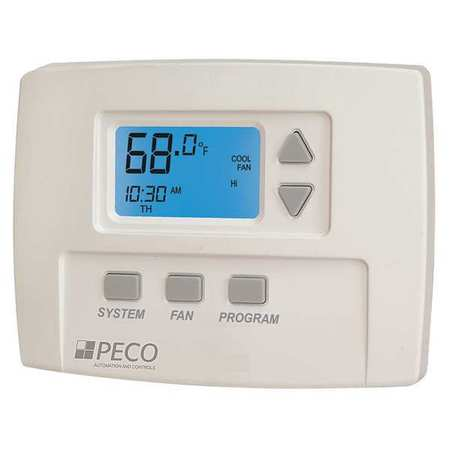fan coil thermostat digital programmable peco ta180 001 walmart com rh walmart com