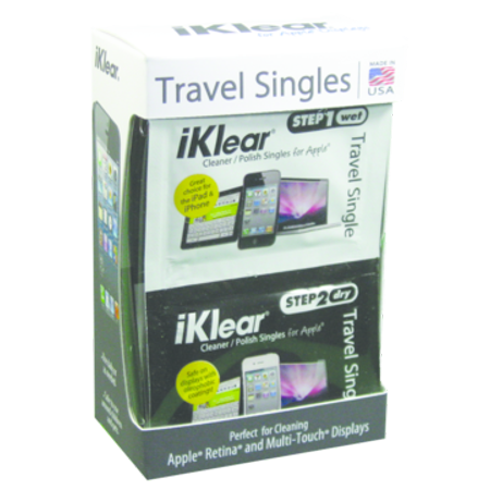 Iklear Travel Singles (iKlear Step 1 / Step 2 Travel Singles - PT - )