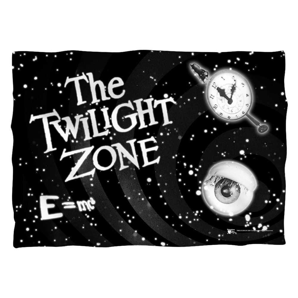 The Twilight Zone Another Dimension Poly 20X28 Pillow Case White One Size