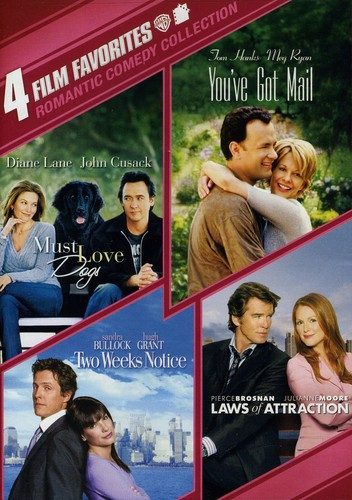 4 Film Favorites: Romantic Comedy Collection by WARNER HOME ENTERTAINMENT