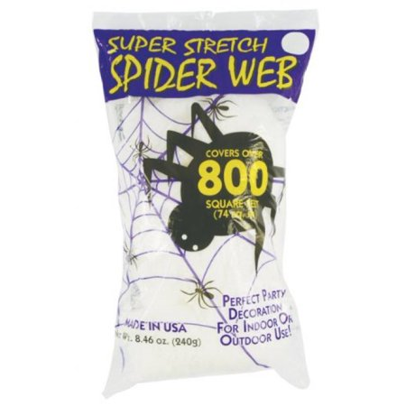 Fake Spider Web Halloween 800sqft](Halloween Games Spider Web Maze)