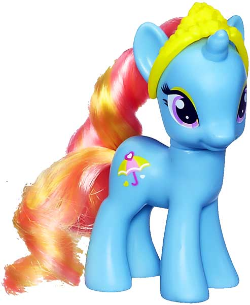My Little Pony Dewdrop Dazzle LOOSE Collectible Figure by