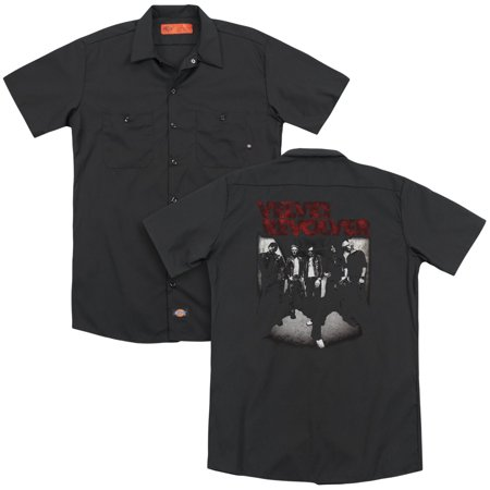 Velvet Revolver - Grop Shot(Back Print) - Work Shirt - X-Large