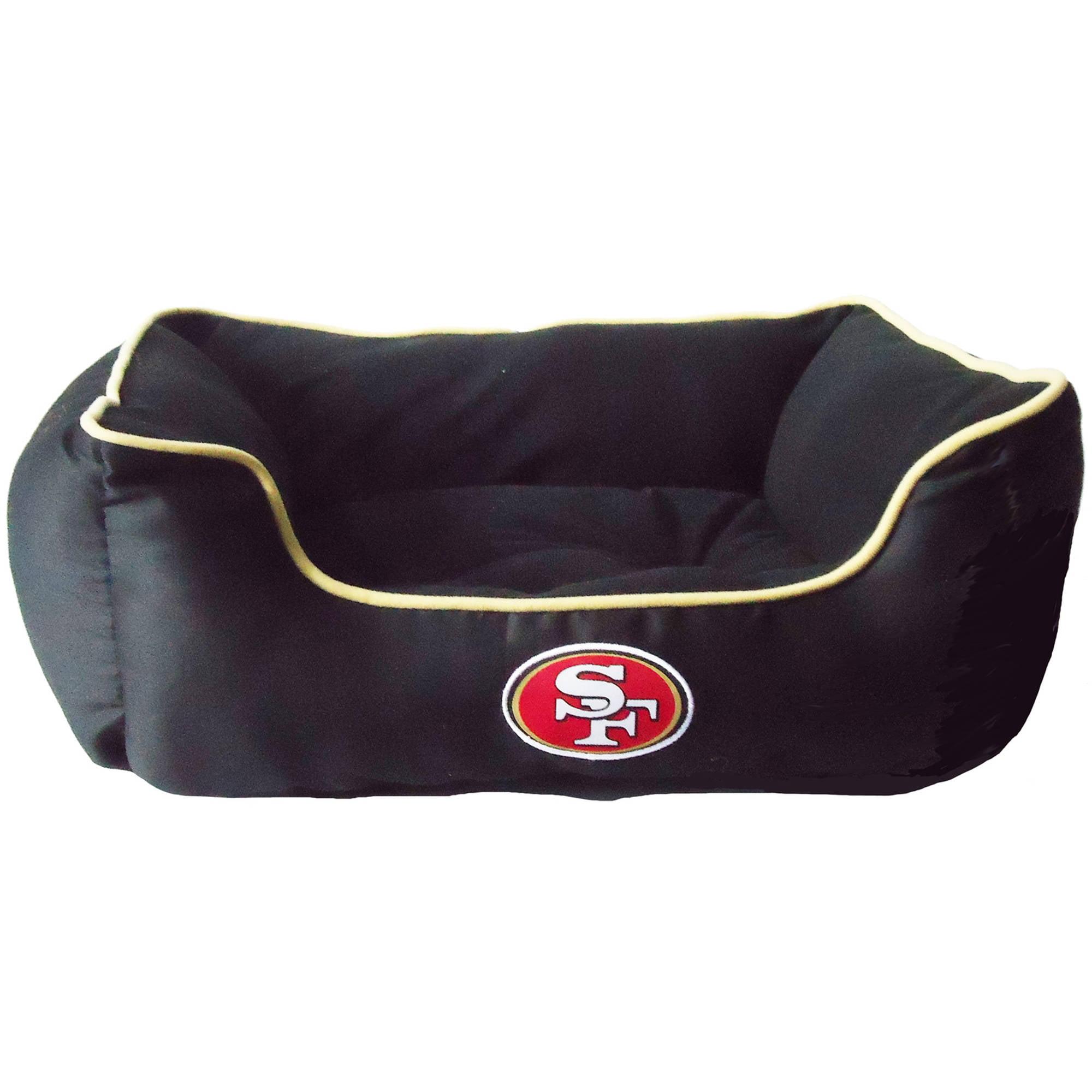 Pets First NFL San Francisco 49ers Pet Bed