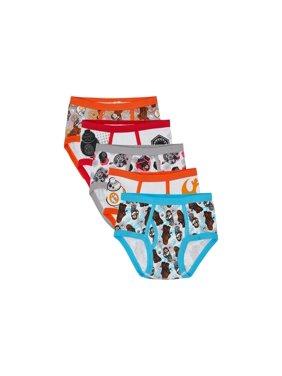 Disney LEGO Star Wars Boys' Underwear Briefs Set, 5 Pack 100% combed cotton (Little Boys & Big Boys)
