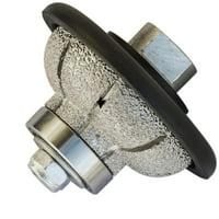"Stadea Diamond Profile Wheel Cove Grinding Wheel 20 MM 3/4"" L20 for Grinder Polisher Tile Granite marble Concrete Shaping Profiling"