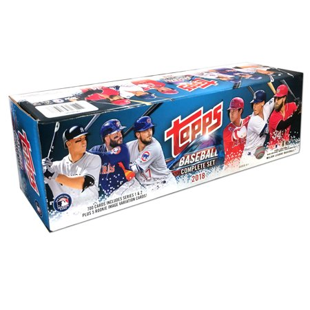 Trading Card Set Sleeves - 18 Topps MLB Baseball Complete Set Trading Cards