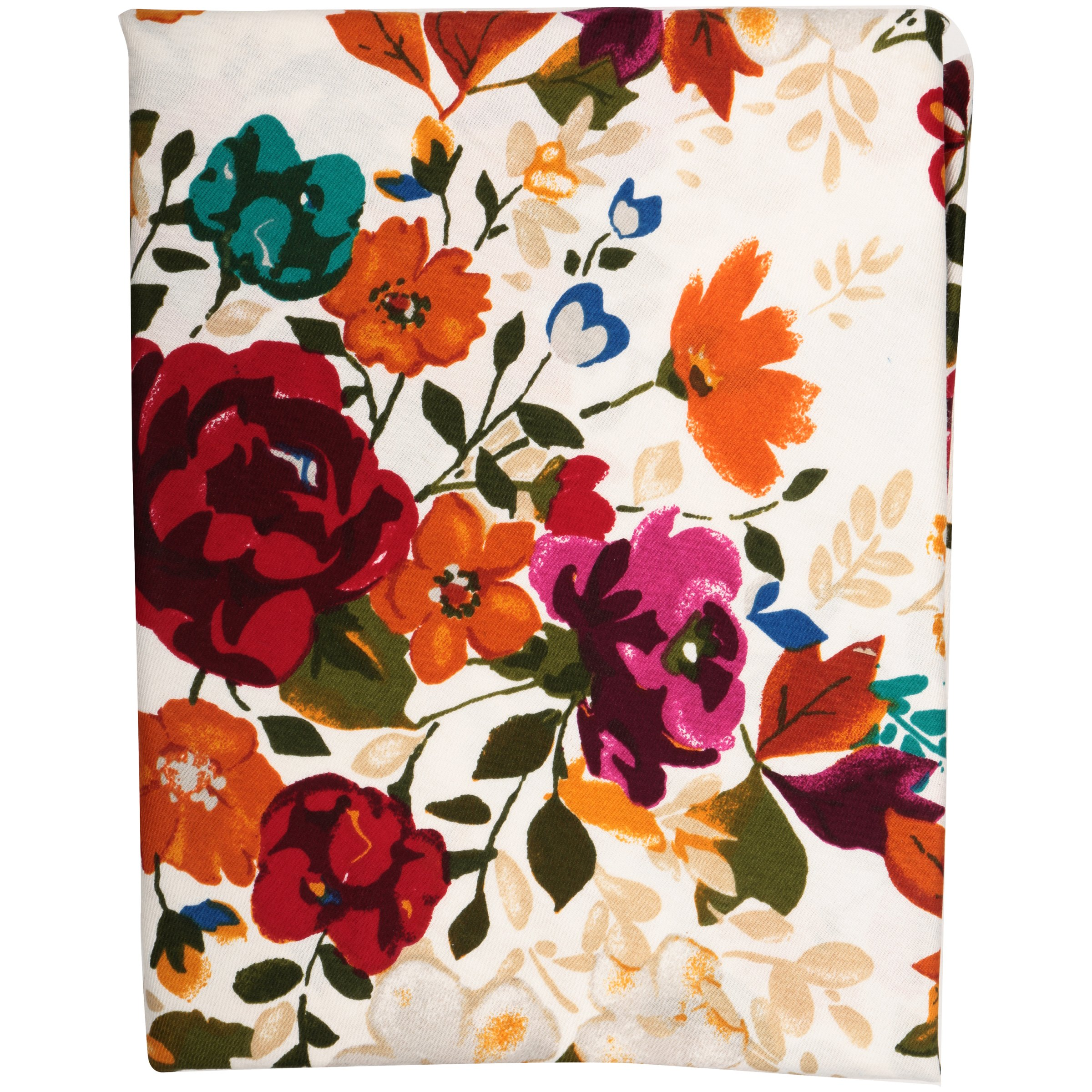 The Pioneer Woman® Timeless Floral Soft Printed Sateen Tablecloth