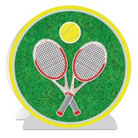 Pack of 6 - 3-D Tennis Centerpiece by Beistle Party Supplies